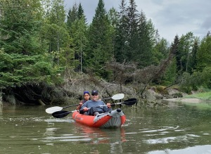 river kayaking tour in gustavus alaska near Glacier Bay